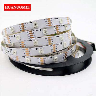 5V 30LEDs APA102 LED Strip Addressable RGB Pixel Light 5050 SMD RGB LED Digital Flexible Tape Lamp 30Pixels/m Ambilight TV Lights
