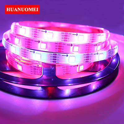 DC5V APA102 RGB LED Strip Light 30LEDs/m SMD 5050 RGB White Flexible Tape Strips Waterproof Silicon Coating IP65 LED Lights TV
