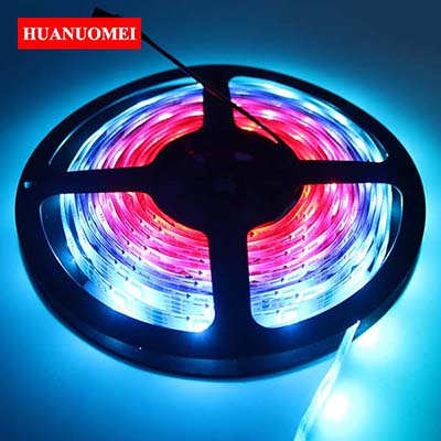 5V 30LEDs APA107 LED Strip Waterproof Flexible Tape 5050 SMD RGB APA102 LED Strips Light LED Backlight TV Lights IP65 White PCB