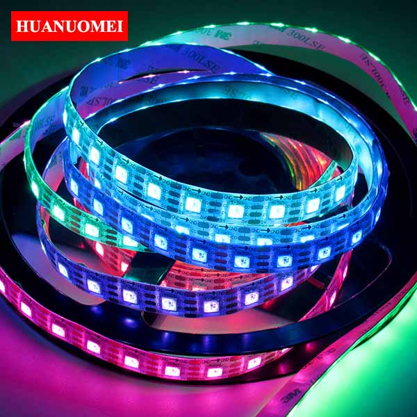 5V 72LEDs/m APA102 LED Strip Waterproof Digital Tape 5050 SMD RGB Pixel Ambilight TV LED Lights 5M/Roll White PCB Waterproof IP65